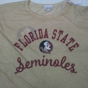 3ba14e6d0d941 Touch by Alyssa Milano Tops - NWT Women s Large Florida State Seminoles  Shirt
